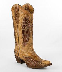 'Corral Wing Cowboy Boot' #buckle #fashion  www.buckle.com