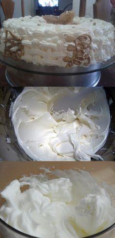 Essa receita foi enviada de uma grande boleira que é amiga nossa e ela resolveu nos ajudar com essa maravilha de receita. #receita #receitas #gastronomia #cozinha #culinaria Cupcakes, Cupcake Cakes, Cake Fillings, Icing Recipe, 20 Min, Buttercream Frosting, Cake Pops, Nutella, Cake Recipes