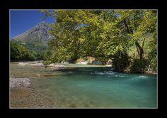 2009_07_19-Acheron River Gliki Greece by massonth (a bit busy), via Flickr
