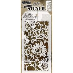 These tag shaped stencils can be used to layer with inks, stains, paints, and more! Stencil measures approximately x inches. Proudly made in the USA by Stampers Anonymous. Stencil Patterns, Stencil Designs, Crayon Set, Stampers Anonymous, Ranger Ink, Letter Stencils, Stencil Painting, My Scrapbook, Scrapbooking