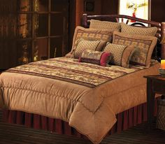 Moose Collection    Alluring wilderness bedding pattern brings the inspirational feeling of the great outdoors into your bedroom with its w...