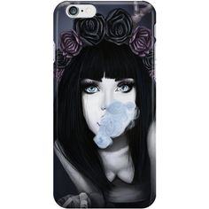 PHONE CASE Wylona Pastel Goth ($23) ❤ liked on Polyvore featuring accessories, tech accessories and phone case