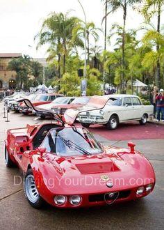 1971 Alfa Romeo Furia (by Tony Bianco, 5 Furia's build, one with an Alfa motor in it ) Luxury Sports Cars, Classic Sports Cars, Sport Cars, Classic Cars, Roadster, Alfa Romeo Cars, Amazing Cars, Awesome, Car Car