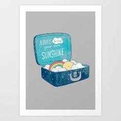 Always bring your own sunshine - $23