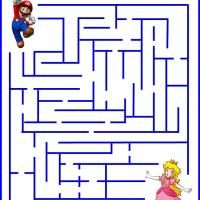 Mario rescue Princess made printable