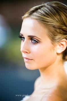 Beautiful wedding make up