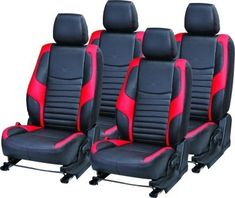 Black//Gray//Brown//Blue//Red//Pink+ Front, Semi-custom Solid Color Car Seat Covers