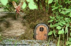A Fairy Door. Naturally.
