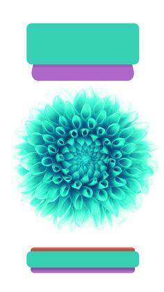 ↑↑TAP AND GET THE FREE APP! Lockscreens Art Creative Flower Nature Blue Green HD iPhone 6 Plus Lock Screen
