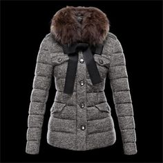 adc506be1079 Manufacturer  2013 Moncler Women Fur Jacket Filler  white goose down Sleeve  Kind  Common Sleeve Sleeve Duration  Long Sleeve Clothing Placket  Zipper  For ...
