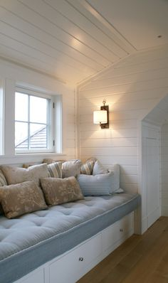Are you a homeowner looking for a way to create an escape space for yourself in the comfort of your own home? Attic Bedroom Ideas For Teens, Attic Bedroom Designs, Attic Renovation, Attic Remodel, Escape Space, Beach House Decor, Home Decor, Loft Spaces, New Room