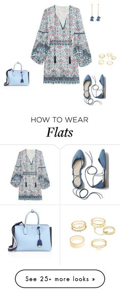 """Untitled #15880"" by explorer-14576312872 on Polyvore featuring Talitha, Charlotte Russe, Ben-Amun, MCM and Gap"