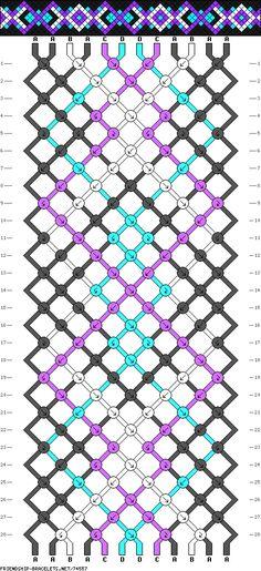 .pattern - macrame friendship bracelet - #74557 - friendship-bracelets.net