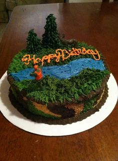 Hunting Cake by Country Confections