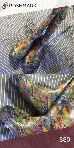 Coach boots Size 10 Coach Shoes Winter & Rain Boots