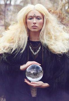crystal ball divination