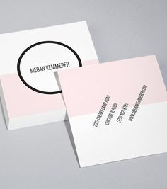 MOO| Colour Field Square Business Card Design Templates