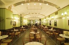 Cafe Museum, Wien. Adolf Loos