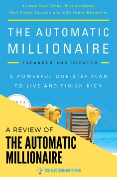 The Automatic Millionaire Book Summary Best Books To Read, Good Books, Finance Books, Finance Tips, Entrepreneur Books, Simple Minds, Quick Reads, How To Become Rich, Book Summaries