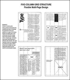 Grid Web Design, Grid Graphic Design, Graphic Design Books, Book Design, Text Layout, Print Layout, Editorial Design Layouts, Page Layout Design, Magazine Layout Design
