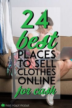 It's possible to make money from selling clothes online if simply want to clean out your closet or are looking to pick up a side hustle.
