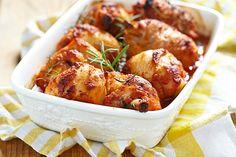 Contramuslos de Pollo al Horno Te enseñamos a cocinar recetas fáciles cómo la receta de Contramuslos de Pollo al Horno y muchas otras recetas de cocina..