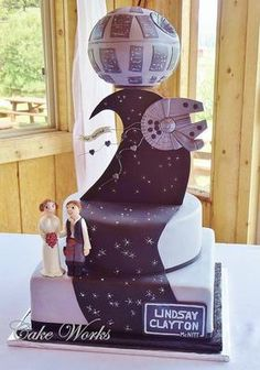 Incredible Cakes | Learnist  This will so be my son's wedding cake!