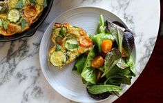A Delicious and Easy Breakfast Frittata Recipe - SELF