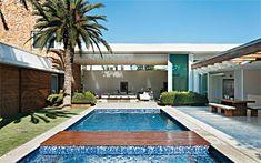 Residência Melville / Alessandra Pires e Carla Barranco #Piscina #Pool #Spa #Exterior