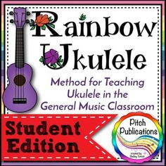 OH MY GOODNESS! This Ukulele method is amazing.  PERFECT for my elementary music class.  I can't believe how amazing this resource is for teaching ukulele!  #ukulele #elmused #musiceducation