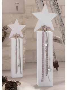 weiß (Christmas Crafts Rustic)