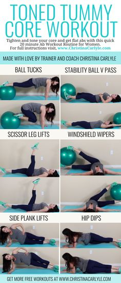 Ab Workout to Tighten & Tone your Tummy in 20 minutes