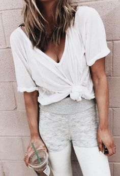 Comfy casual lounging outfit.