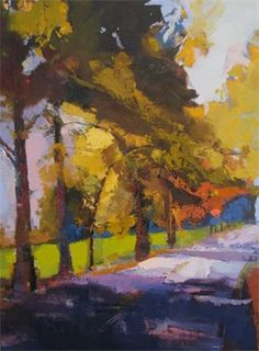 Every Road is an Awakening by Ann Watcher, 40x30, oil