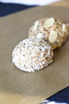 protein nut butter truffles