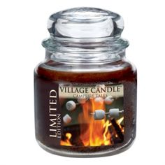 Campfire Tales Limited Edition Premium 16oz (899g) Fragranced Candle Jar