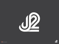 J2 Web Design, Design Logo, Modern Logo Design, Brand Identity Design, Branding Design, Icon Design, Graphic Design, Typography Logo, Art Logo