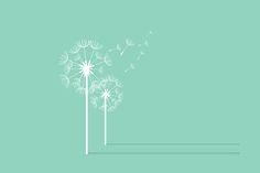 Dandelion Background. Retro Concept by Things for designers on Creative Market
