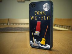 HOCUS POCUS iPhone 4 or 4S Case Hocus Pocus Vacuum We Fly iPhone Case by IFNH, $15.00
