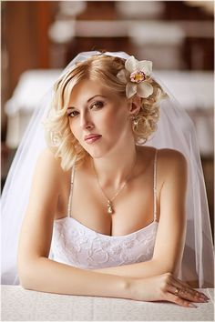 Bridal Hairstyles For Short Hair: Here are my top 10 bridal hairstyle choices.