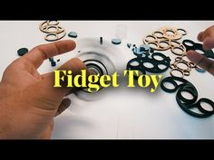 Designing and Making your own Fidget Toy  DIY Hand Spinner / Finger Spinner