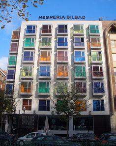 Travel in Color: Hotel Hesperia Bilbao, Spain