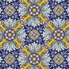 Mexican Tile - Romanesco Mexican Tile