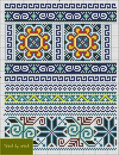 ru / Photo # 1 - 20 - irisha-ira by Sewingsuit Cross Stitch Borders, Crochet Borders, Cross Stitch Charts, Cross Stitching, Cross Stitch Embroidery, Cross Stitch Patterns, Bead Loom Patterns, Beading Patterns, Knitting Charts