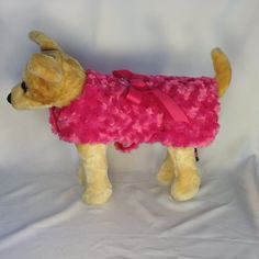 Hot Pink Swirl Coat – SpoiledDogDesigns.com - Palm Springs, CA - Designer Dog Clothing