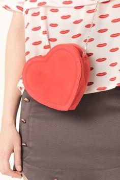 KLING Heart bag @ Tres Fab