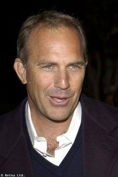 Mr. Costner.... is one handsome older man.   Dancing with wolves.