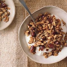 Quick Omega-3 Granola:  Time to jump on the granola bandwagon!  Best recipe I found at Epicurious
