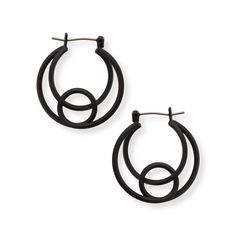 Buy the Rina Spiral Hoop Earrings at Oliver Bonas. Enjoy free worldwide standard delivery for orders over £50.