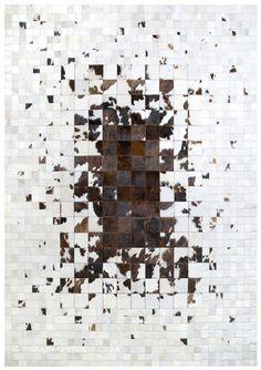 Moralex Rug, a luxury cowhide leather rug in shades of brown, light beige & white (handmade in Spain, 6 set + custom sizes) http://www.therugswarehouse.co.uk/modern-rugs3/girona-rugs/moralex-rug.html … #interiors #homedecor #rugs